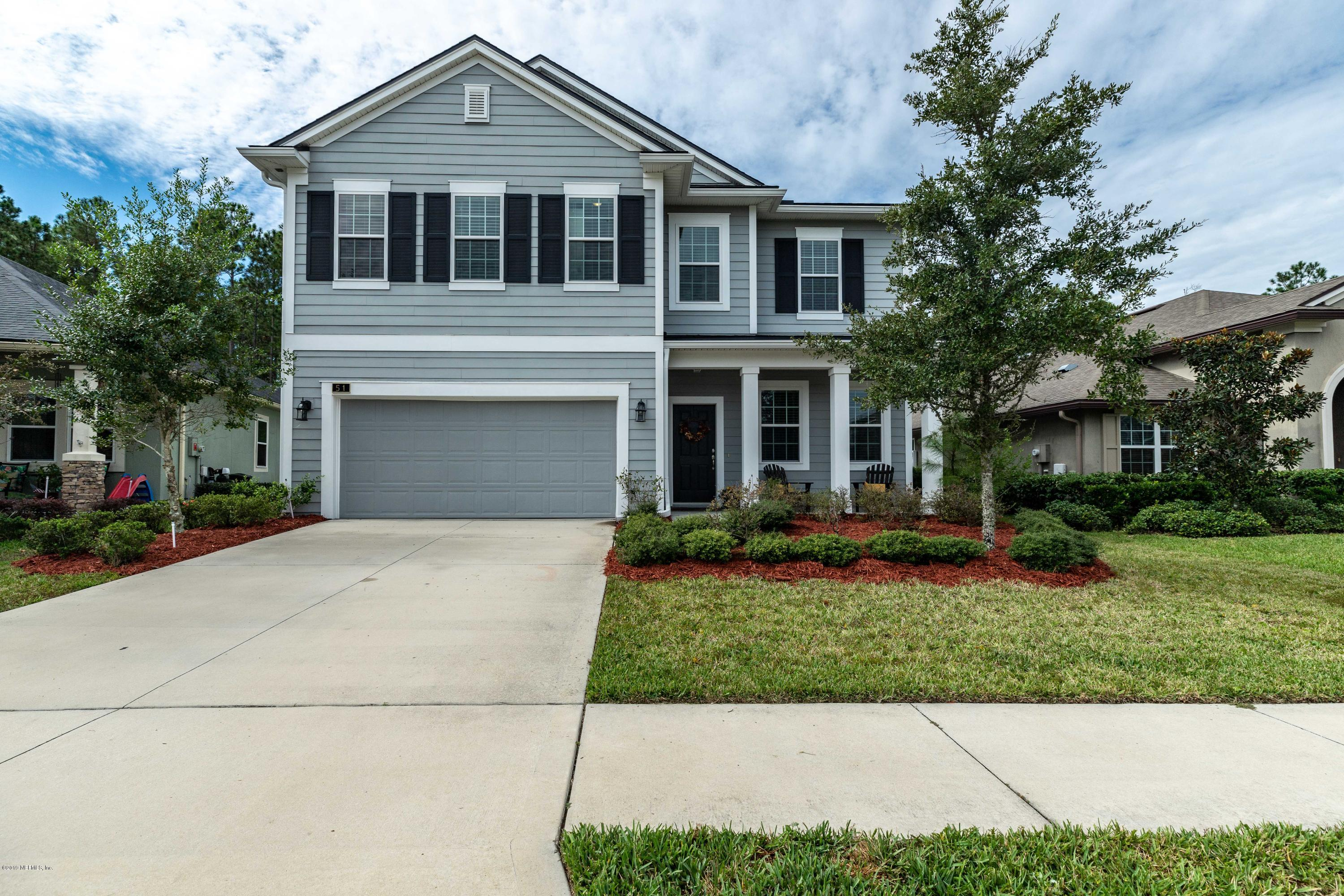 51 WILLOW WINDS, ST JOHNS, FLORIDA 32259, 4 Bedrooms Bedrooms, ,2 BathroomsBathrooms,Residential - single family,For sale,WILLOW WINDS,1020609