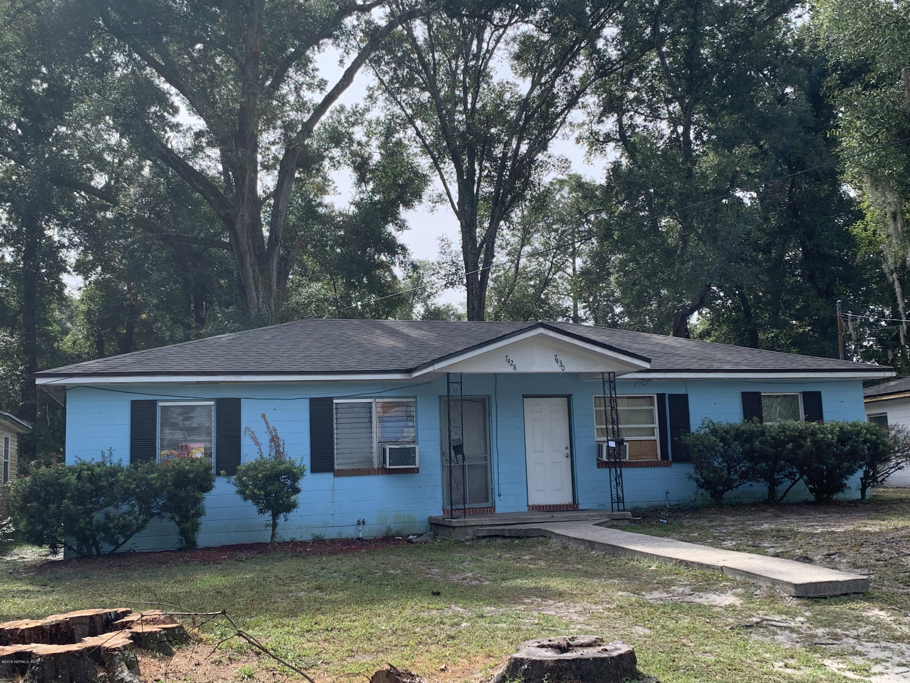 7438 GRANT- JACKSONVILLE- FLORIDA 32208, 4 Bedrooms Bedrooms, ,2 BathroomsBathrooms,Residential Income,For sale,GRANT,1019618