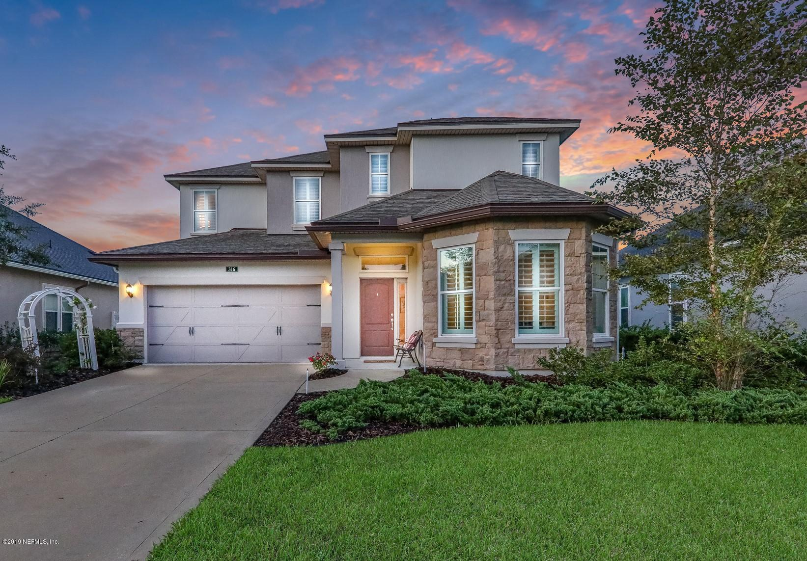 316 TOLLERTON, ST JOHNS, FLORIDA 32259, 4 Bedrooms Bedrooms, ,3 BathroomsBathrooms,Residential - single family,For sale,TOLLERTON,1021895