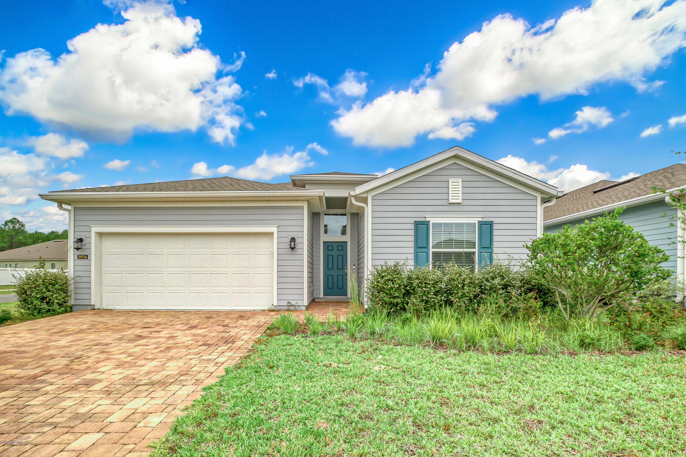 3926 ARBOR MILL, ORANGE PARK, FLORIDA 32065, 4 Bedrooms Bedrooms, ,3 BathroomsBathrooms,Residential - single family,For sale,ARBOR MILL,1022249