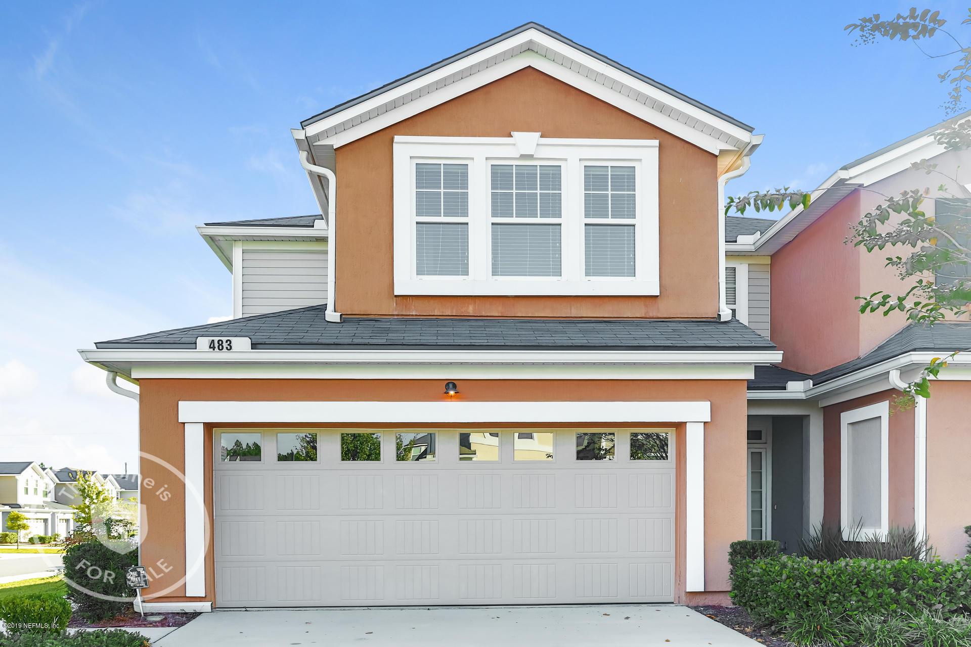 483 RYKER, ORANGE PARK, FLORIDA 32065, 3 Bedrooms Bedrooms, ,2 BathroomsBathrooms,Residential - townhome,For sale,RYKER,1022668