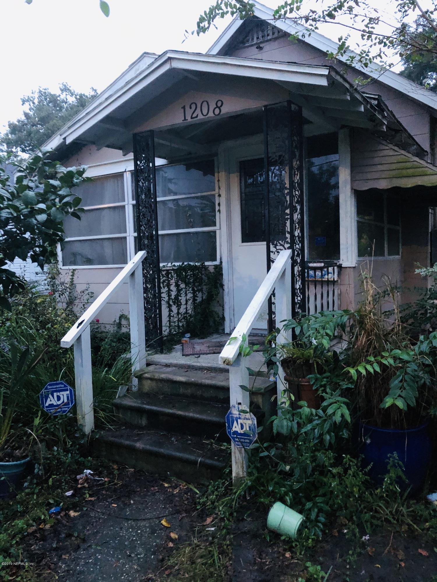 1208 IDA- JACKSONVILLE- FLORIDA 32208, 3 Bedrooms Bedrooms, ,1 BathroomBathrooms,Residential - single family,For sale,IDA,1021466