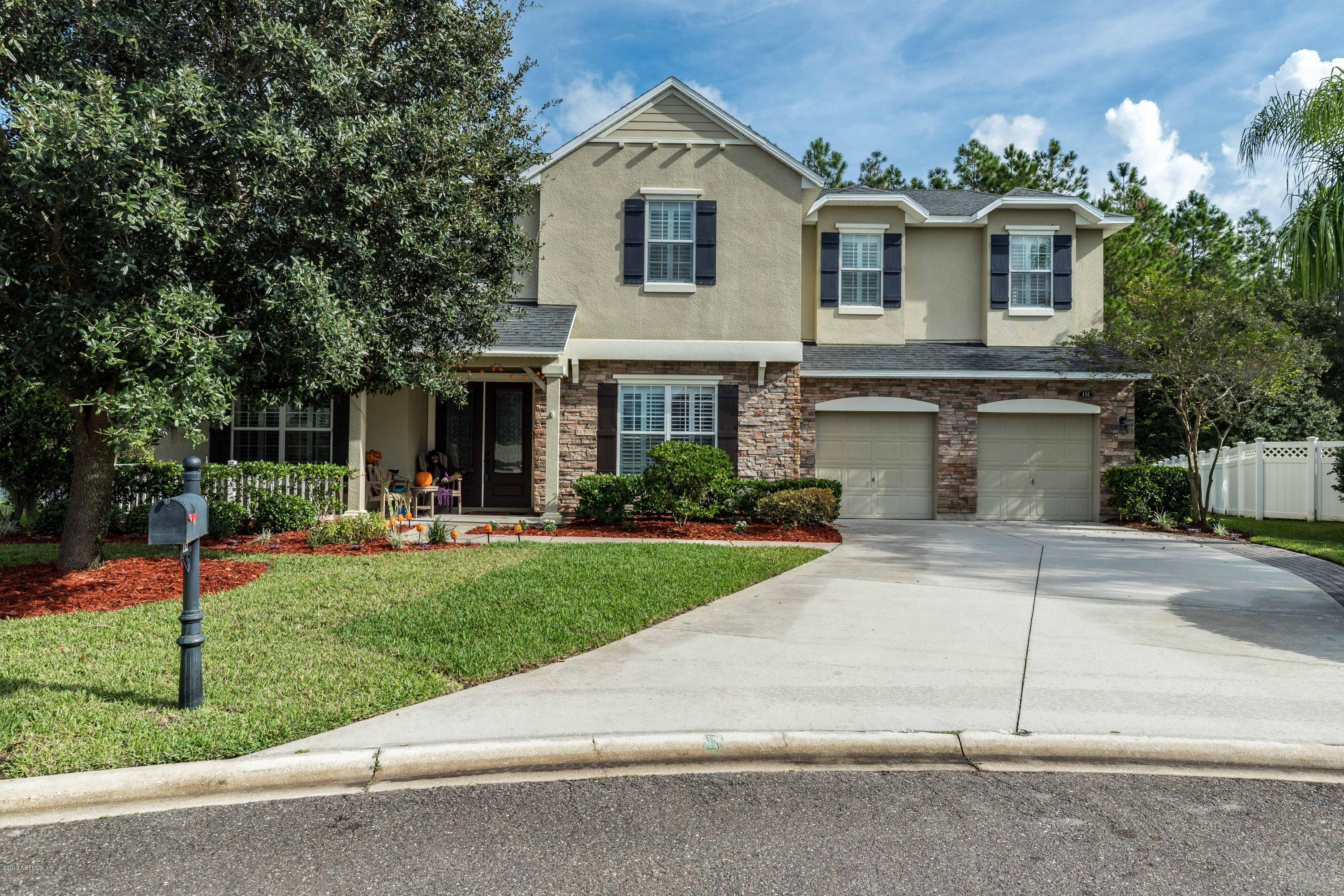 132 CHATSWORTH, JACKSONVILLE, FLORIDA 32259, 4 Bedrooms Bedrooms, ,3 BathroomsBathrooms,Residential - single family,For sale,CHATSWORTH,1022161