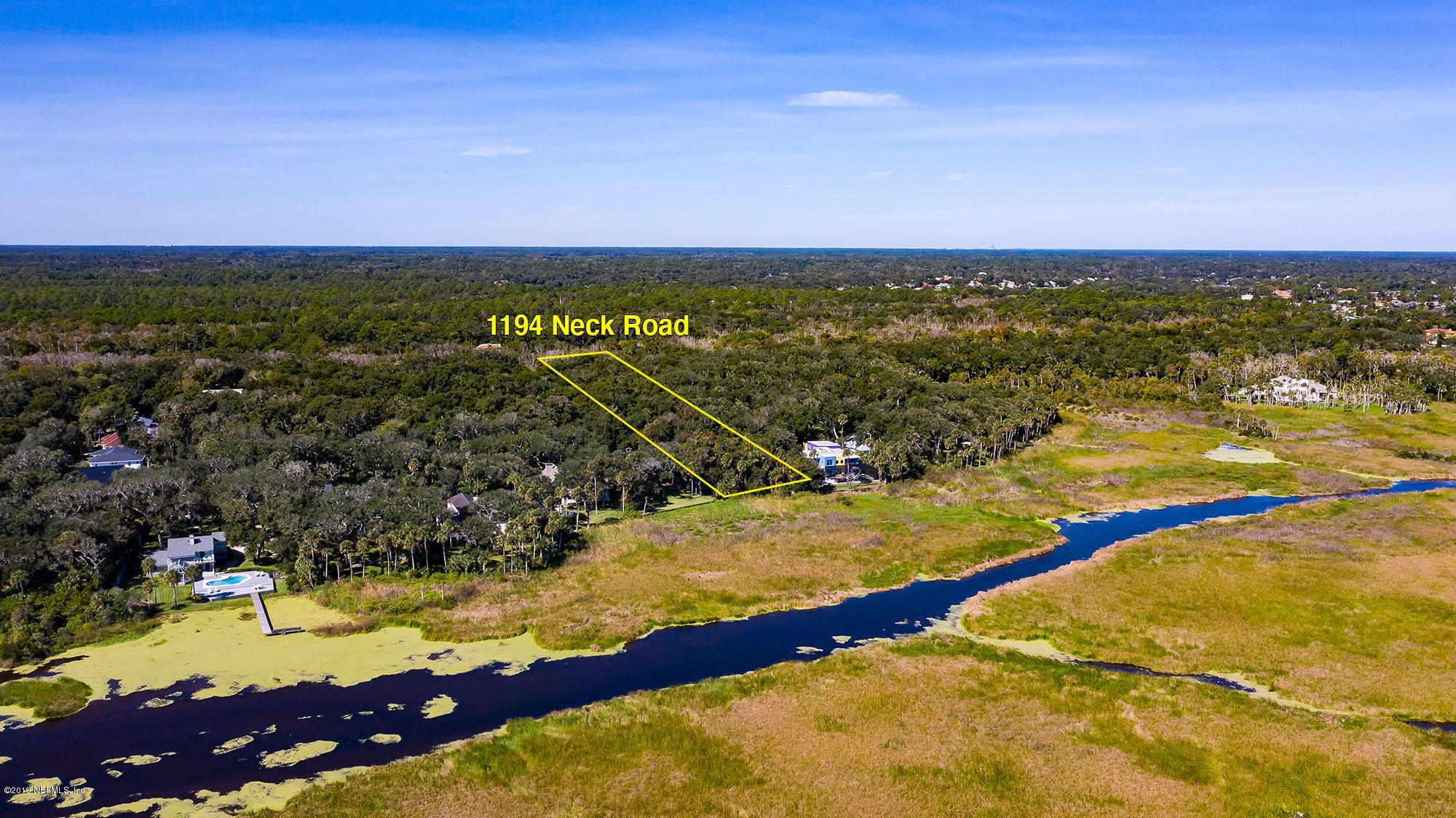 1194 NECK, PONTE VEDRA BEACH, FLORIDA 32082, ,Vacant land,For sale,NECK,1023610