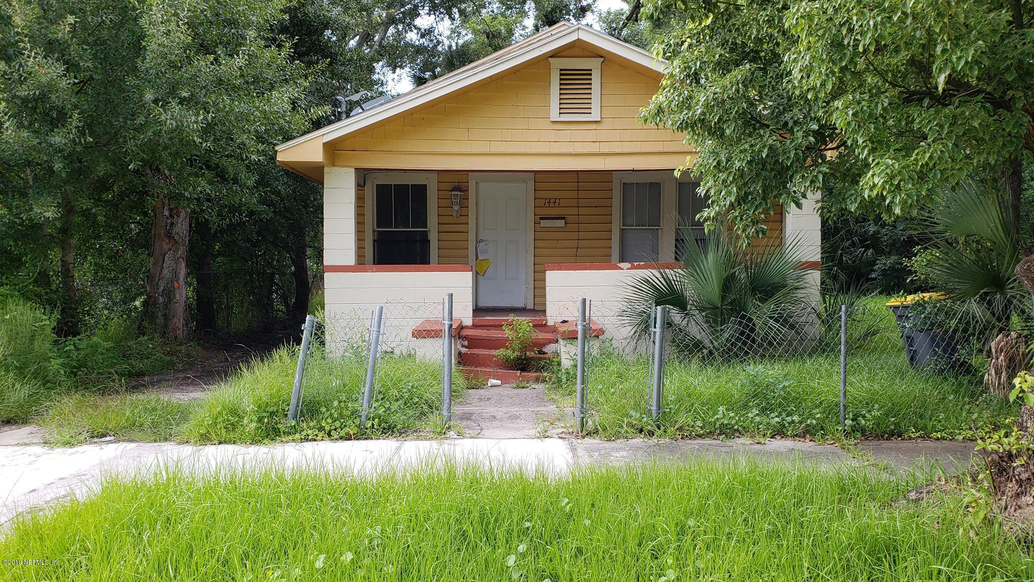 1441 8TH, JACKSONVILLE, FLORIDA 32209, 3 Bedrooms Bedrooms, ,1 BathroomBathrooms,Residential,For sale,8TH,1025116