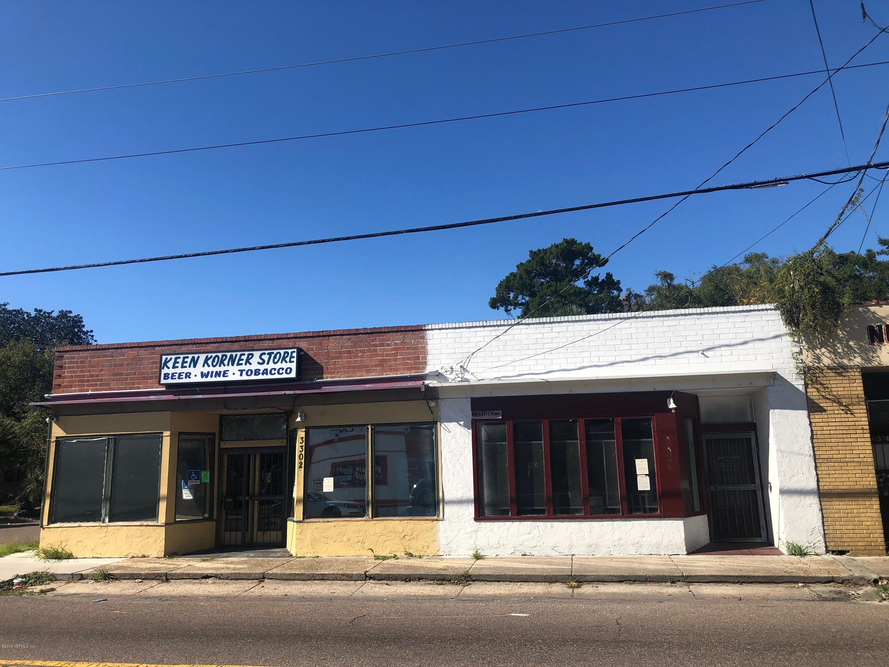 3302 PEARL, JACKSONVILLE, FLORIDA 32206, ,Commercial,For sale,PEARL,1026136