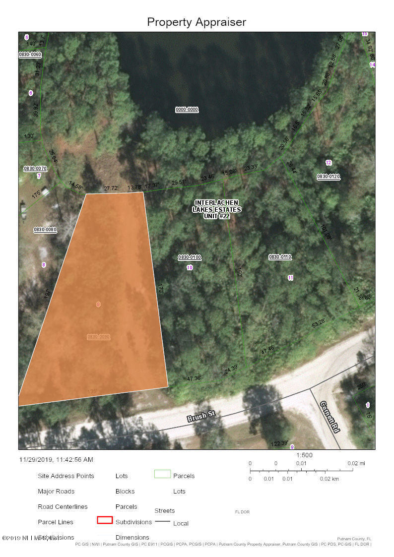 0 BRUSH, INTERLACHEN, FLORIDA 32148, ,Vacant land,For sale,BRUSH,1027432