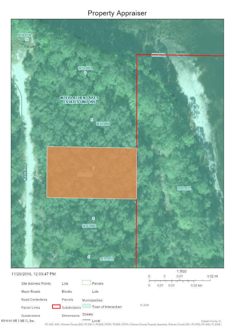 00 KENT, INTERLACHEN, FLORIDA 32148, ,Vacant land,For sale,KENT,1027428