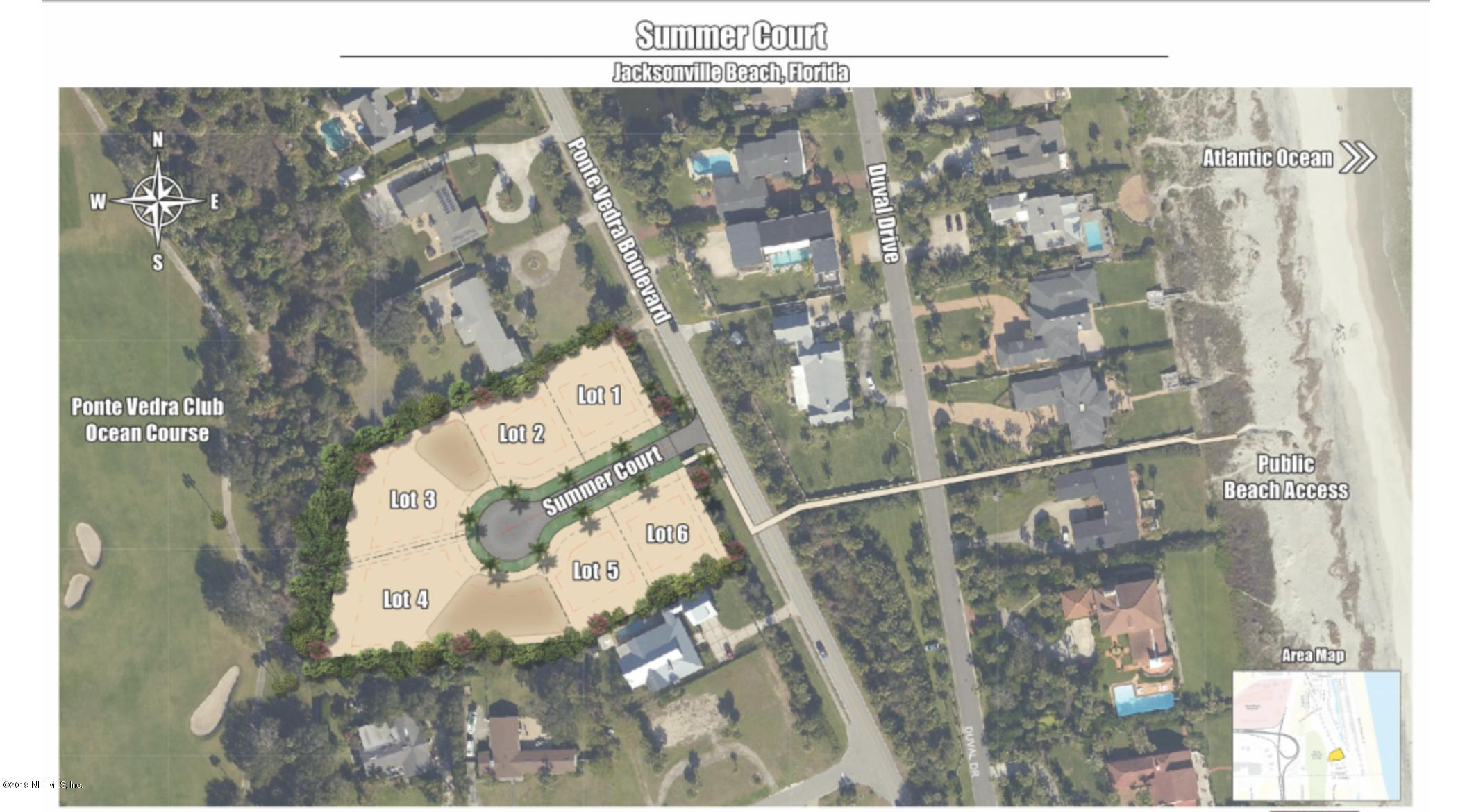 6 SUMMER, JACKSONVILLE BEACH, FLORIDA 32250, ,Vacant land,For sale,SUMMER,1028049