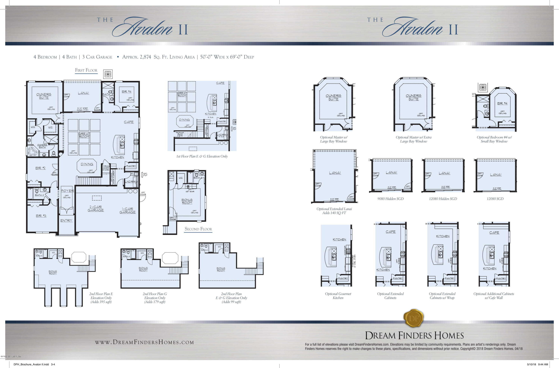 17 MEADOW CROSSING, ST AUGUSTINE, FLORIDA 32086, 5 Bedrooms Bedrooms, ,4 BathroomsBathrooms,Residential,For sale,MEADOW CROSSING,1028373