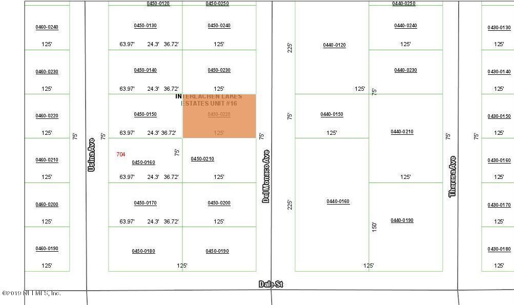 0220 DELMONACO, INTERLACHEN, FLORIDA 32148, ,Vacant land,For sale,DELMONACO,1028987