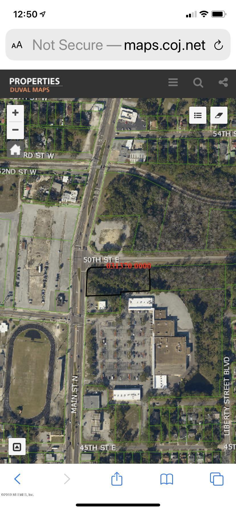 0 MAIN, JACKSONVILLE, FLORIDA 32208, ,Vacant land,For sale,MAIN,1029175