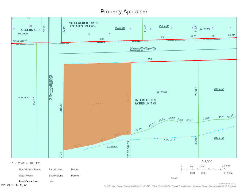 308 COUNTY RD 315, INTERLACHEN, FLORIDA 32148, ,Vacant land,For sale,COUNTY RD 315,1029253
