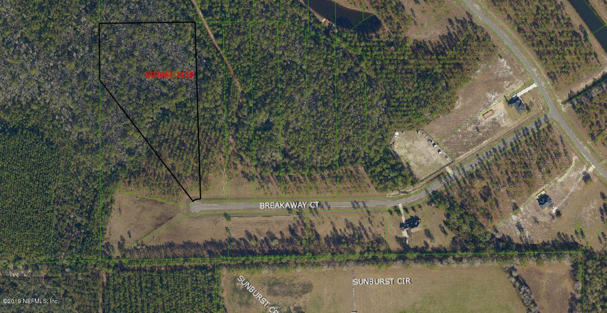 10141 BREAKAWAY, JACKSONVILLE, FLORIDA 32219, ,Vacant land,For sale,BREAKAWAY,1029973