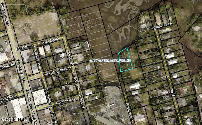 0 RUSSELL, ST AUGUSTINE, FLORIDA 32084, ,Vacant land,For sale,RUSSELL,1031588