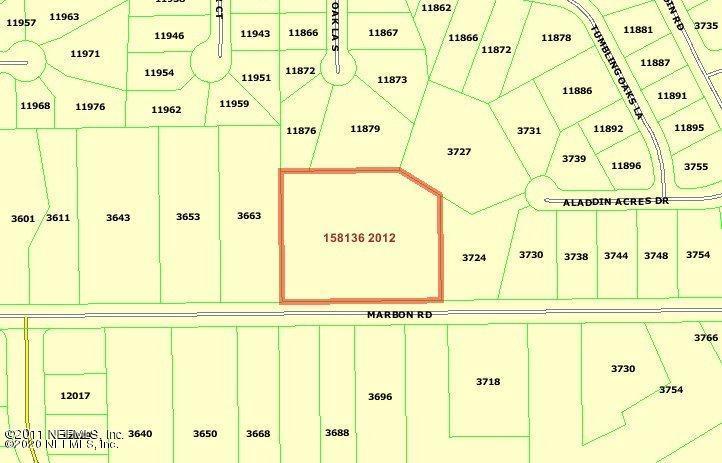 0 MARBON, JACKSONVILLE, FLORIDA 32223, ,Vacant land,For sale,MARBON,1033123