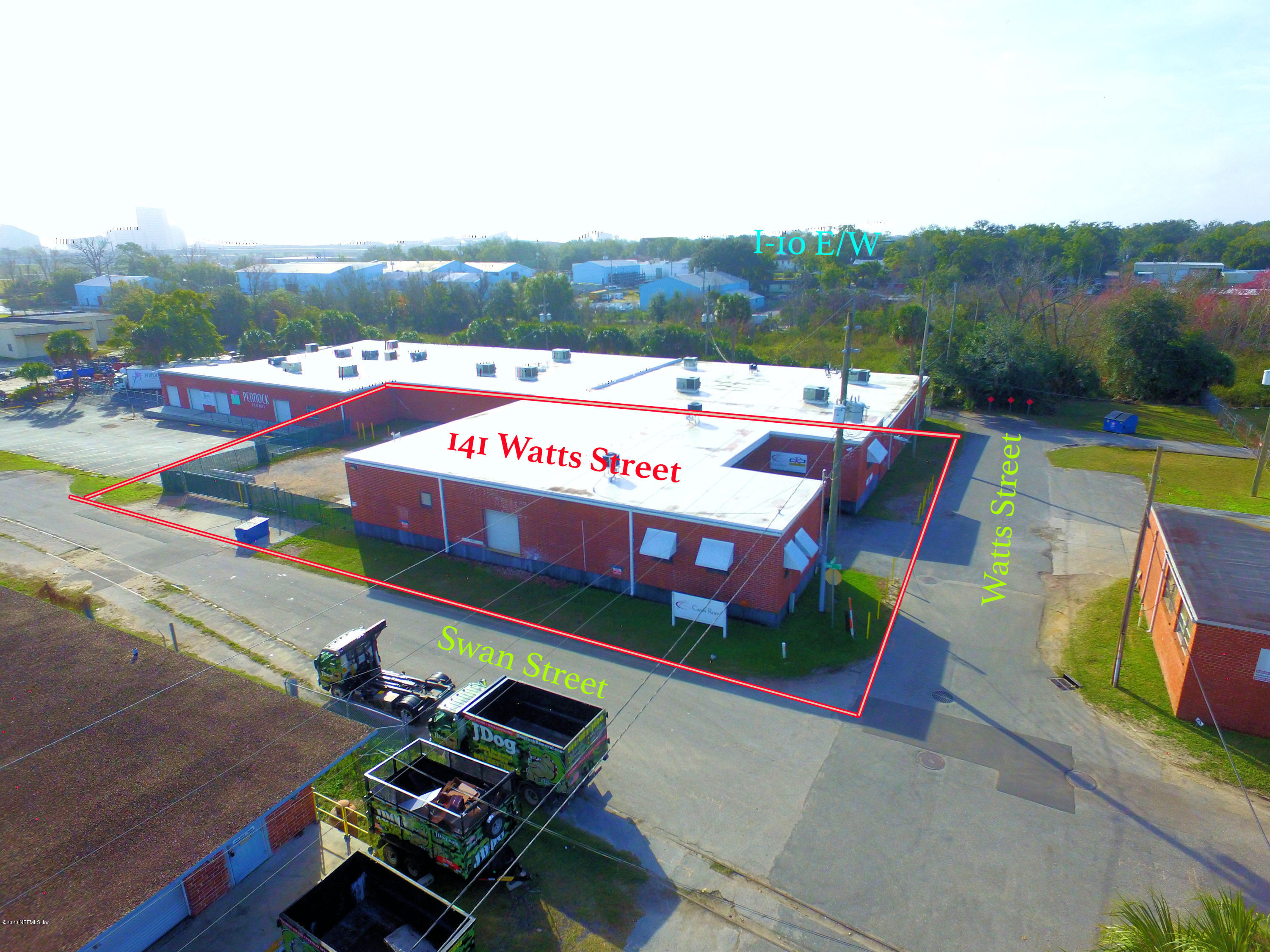 141 WATTS, JACKSONVILLE, FLORIDA 32204, ,Commercial,For sale,WATTS,1033492