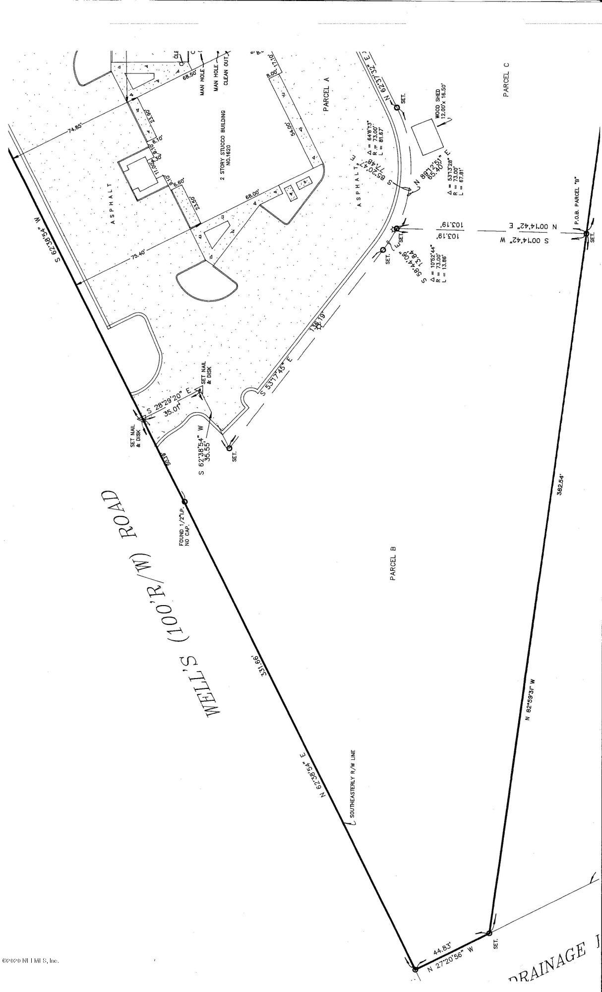 1630 WELLS, ORANGE PARK, FLORIDA 32073, ,Commercial,For sale,WELLS,1033710