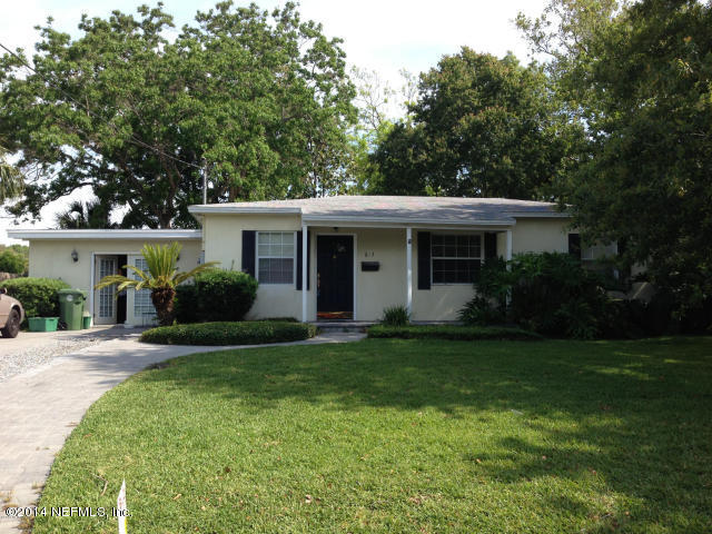 613 BARBARA, JACKSONVILLE BEACH, FLORIDA 32250, 3 Bedrooms Bedrooms, ,1 BathroomBathrooms,Rental,For sale,BARBARA,1033740