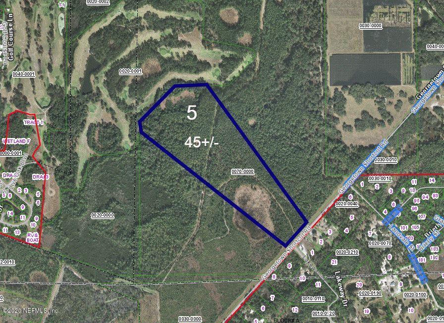 221- LOT 5 GEORGETOWN SHORTCUT, CRESCENT CITY, FLORIDA 32112, ,Vacant land,For sale,GEORGETOWN SHORTCUT,1035679