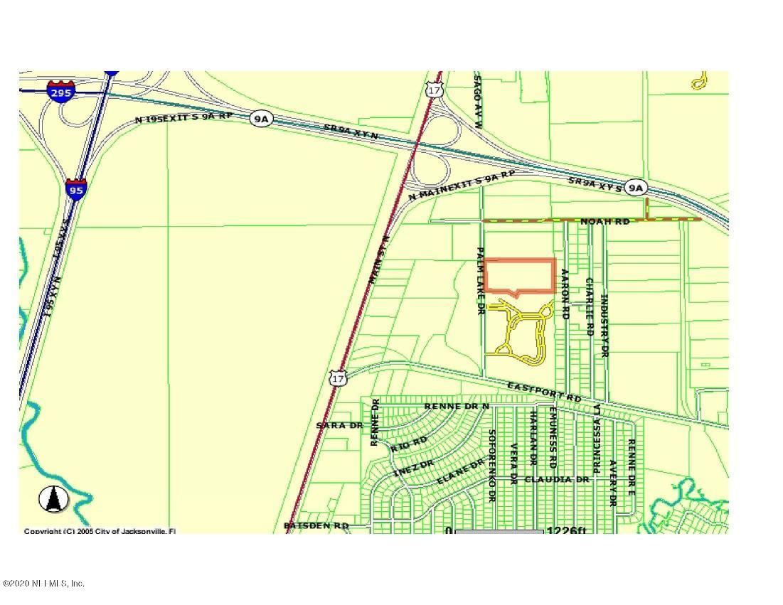 0 PALM LAKE, JACKSONVILLE, FLORIDA 32218, ,Vacant land,For sale,PALM LAKE,1035804