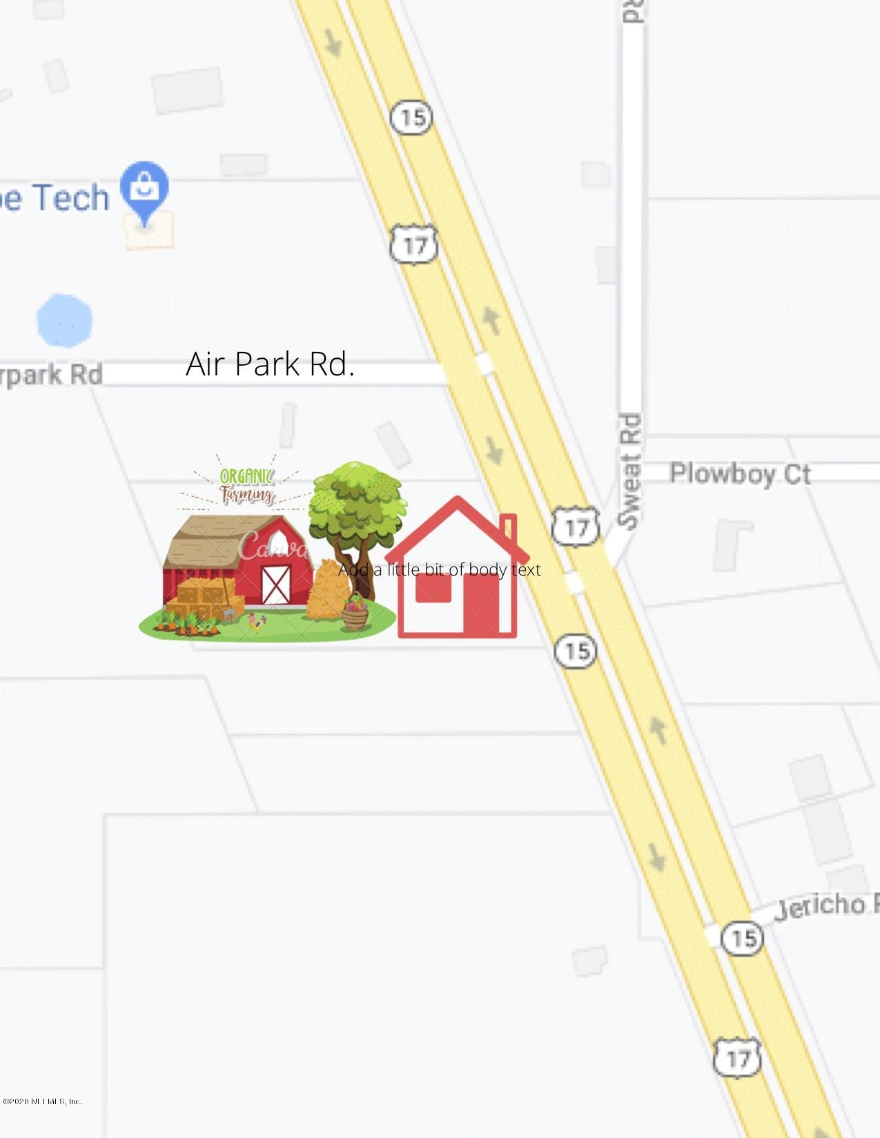 LOT 1 US HIGHWAY 17, GREEN COVE SPRINGS, FLORIDA 32043, ,Vacant land,For sale,US HIGHWAY 17,1036992