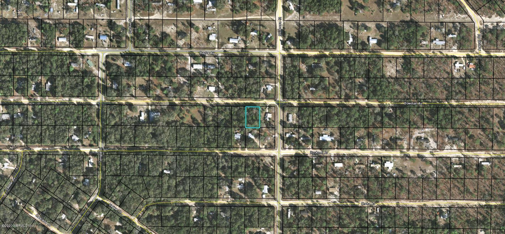 6339 BOWDOIN, KEYSTONE HEIGHTS, FLORIDA 32656, ,Vacant land,For sale,BOWDOIN,1037679