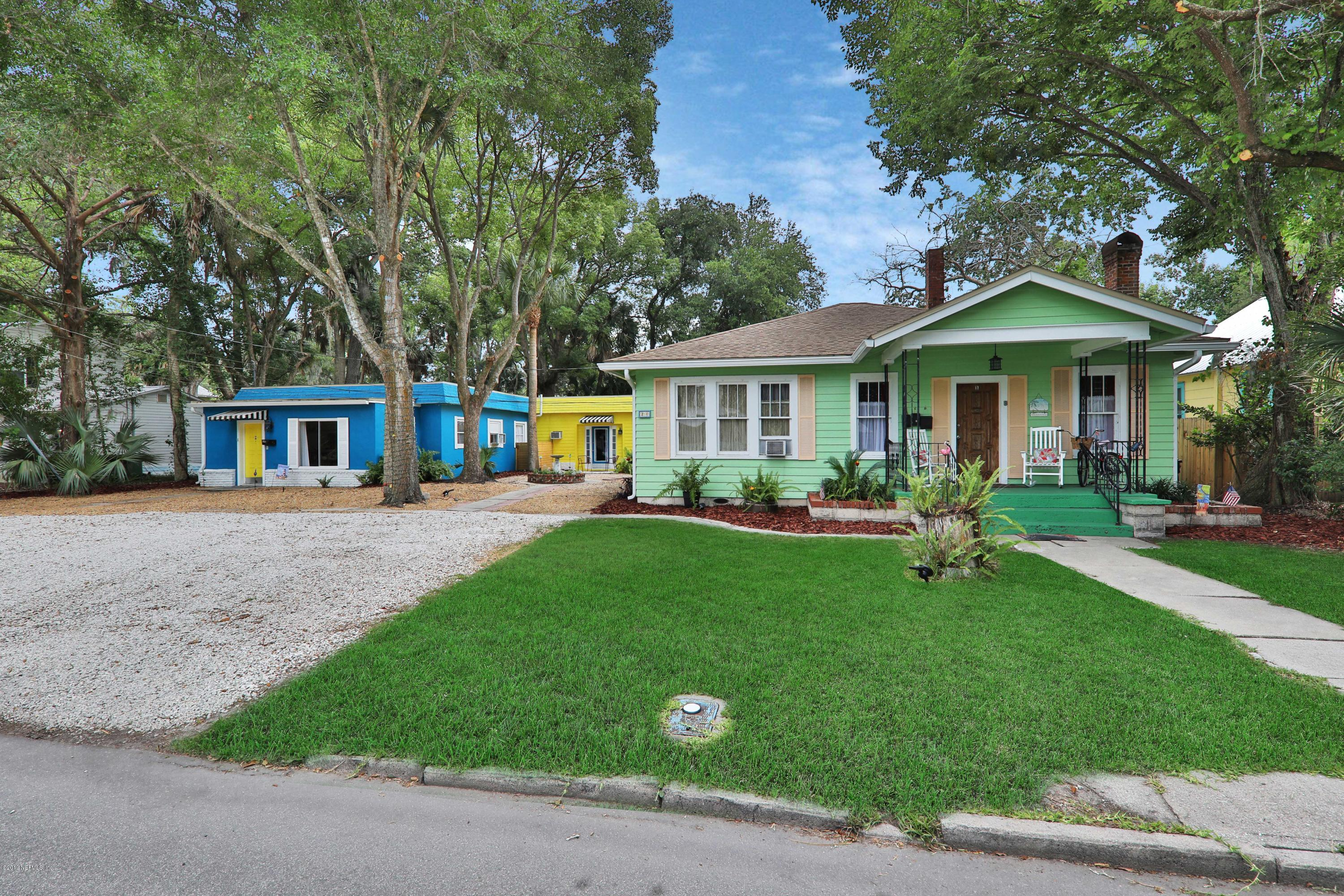 21 WILLIAMS, ST AUGUSTINE, FLORIDA 32084, 7 Bedrooms Bedrooms, ,4 BathroomsBathrooms,Investment / MultiFamily,For sale,WILLIAMS,1037744