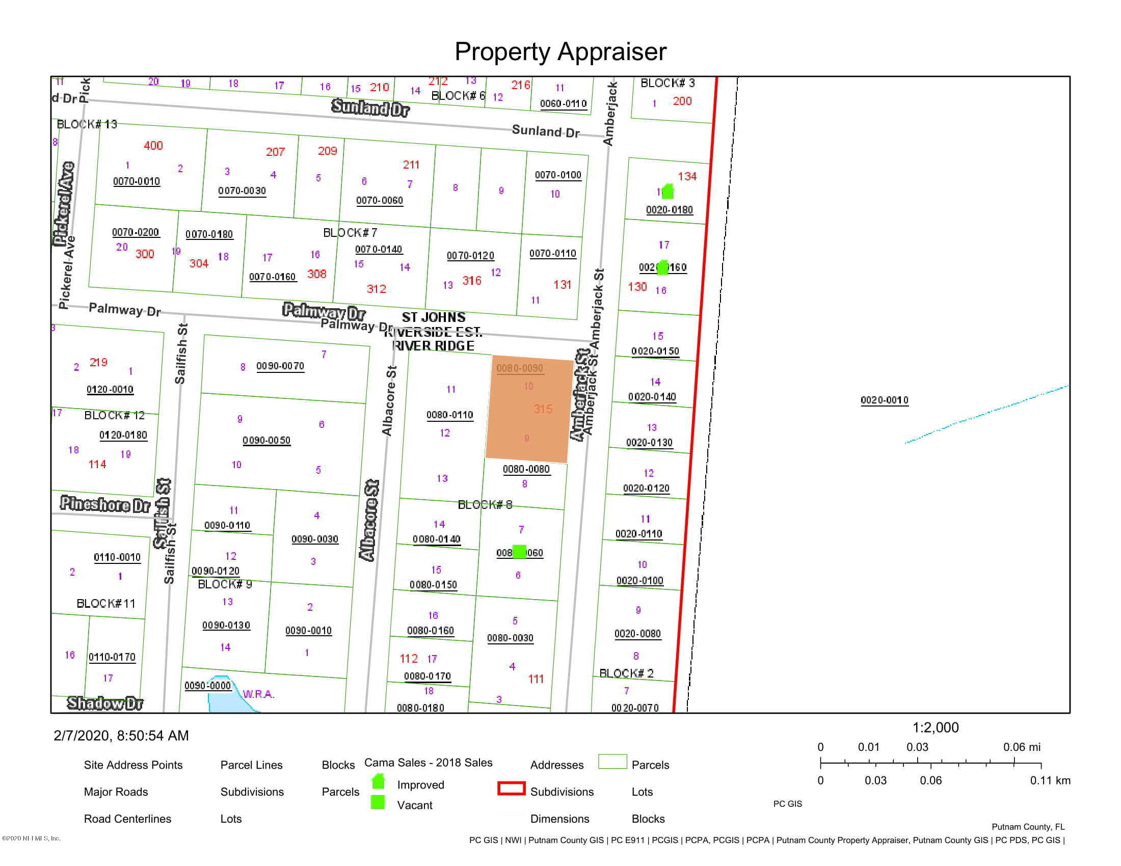 0 PALMWAY, SATSUMA, FLORIDA 32189, ,Vacant land,For sale,PALMWAY,1037775