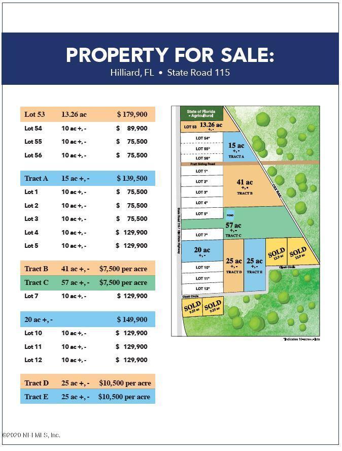 TRACT D CLYATT, HILLIARD, FLORIDA 32046, ,Vacant land,For sale,CLYATT,1037984