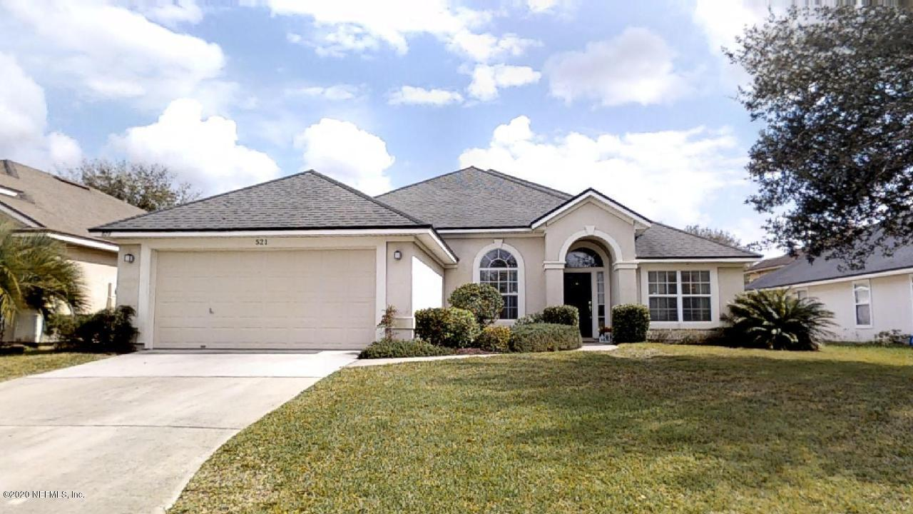 521 WAKEMONT, ORANGE PARK, FLORIDA 32065, 4 Bedrooms Bedrooms, ,2 BathroomsBathrooms,Residential,For sale,WAKEMONT,1038649