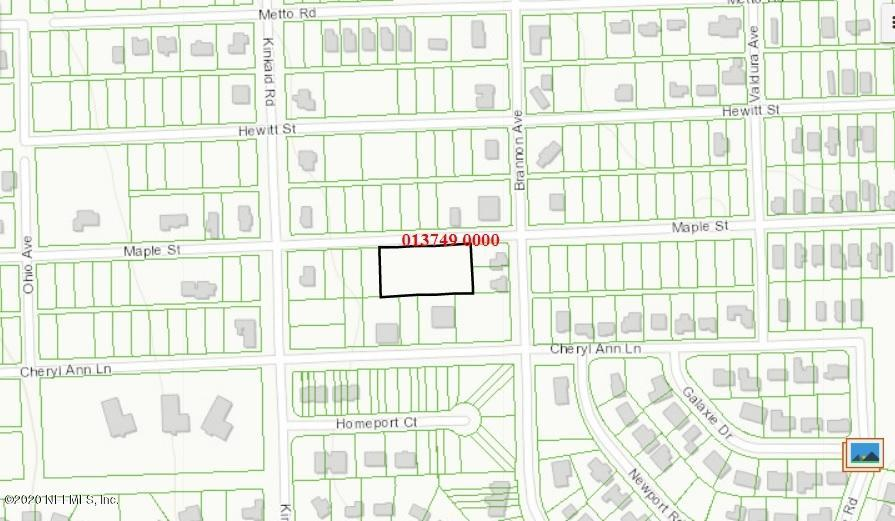 0 MAPLE, JACKSONVILLE, FLORIDA 32244, ,Vacant land,For sale,MAPLE,1038860