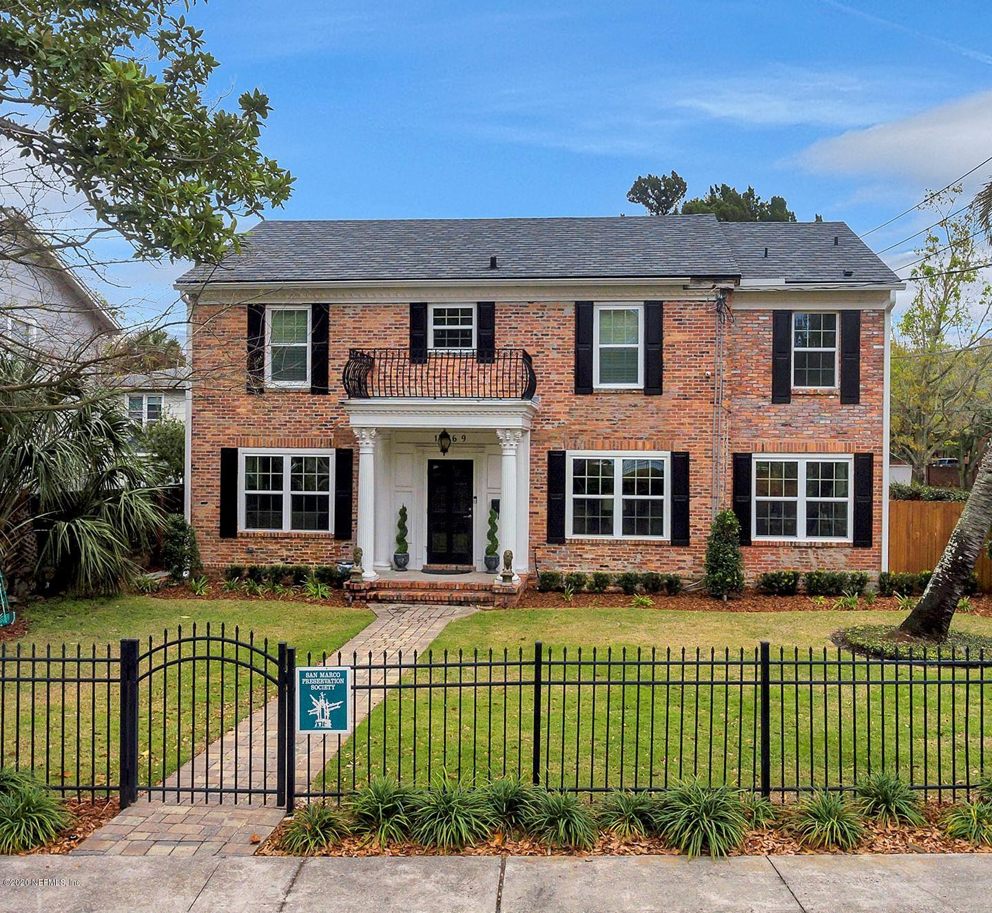 1469 LE BARON, JACKSONVILLE, FLORIDA 32207, 4 Bedrooms Bedrooms, ,4 BathroomsBathrooms,Residential,For sale,LE BARON,1039022