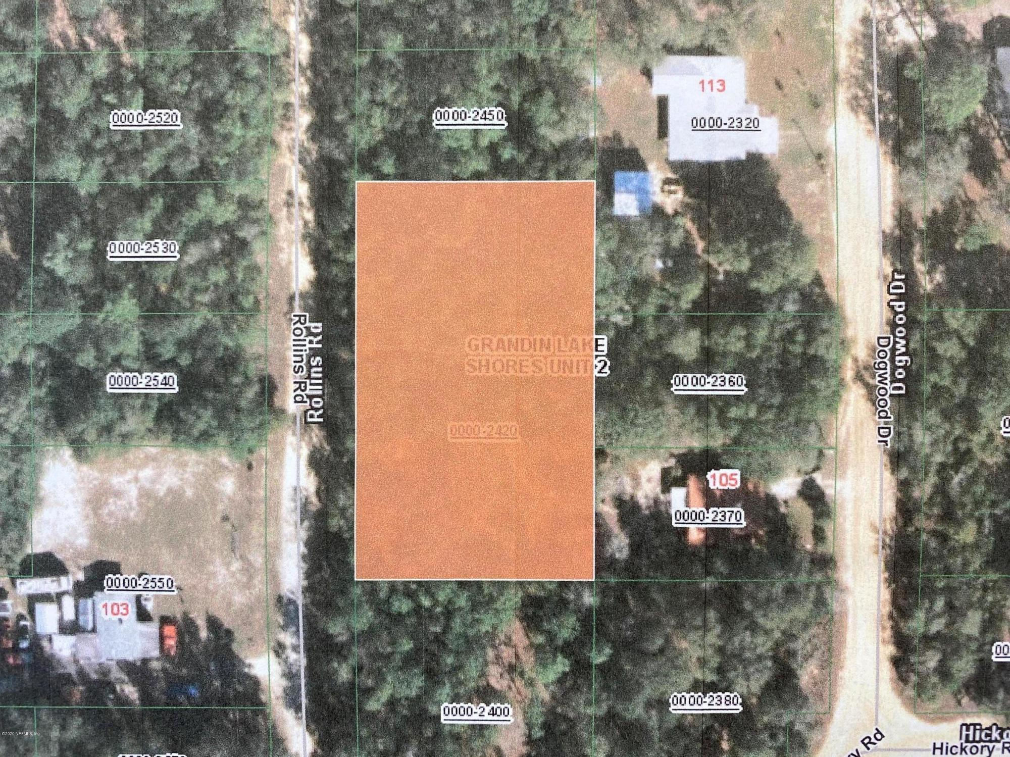 00 ROLLINS, INTERLACHEN, FLORIDA 32148, ,Vacant land,For sale,ROLLINS,1039316
