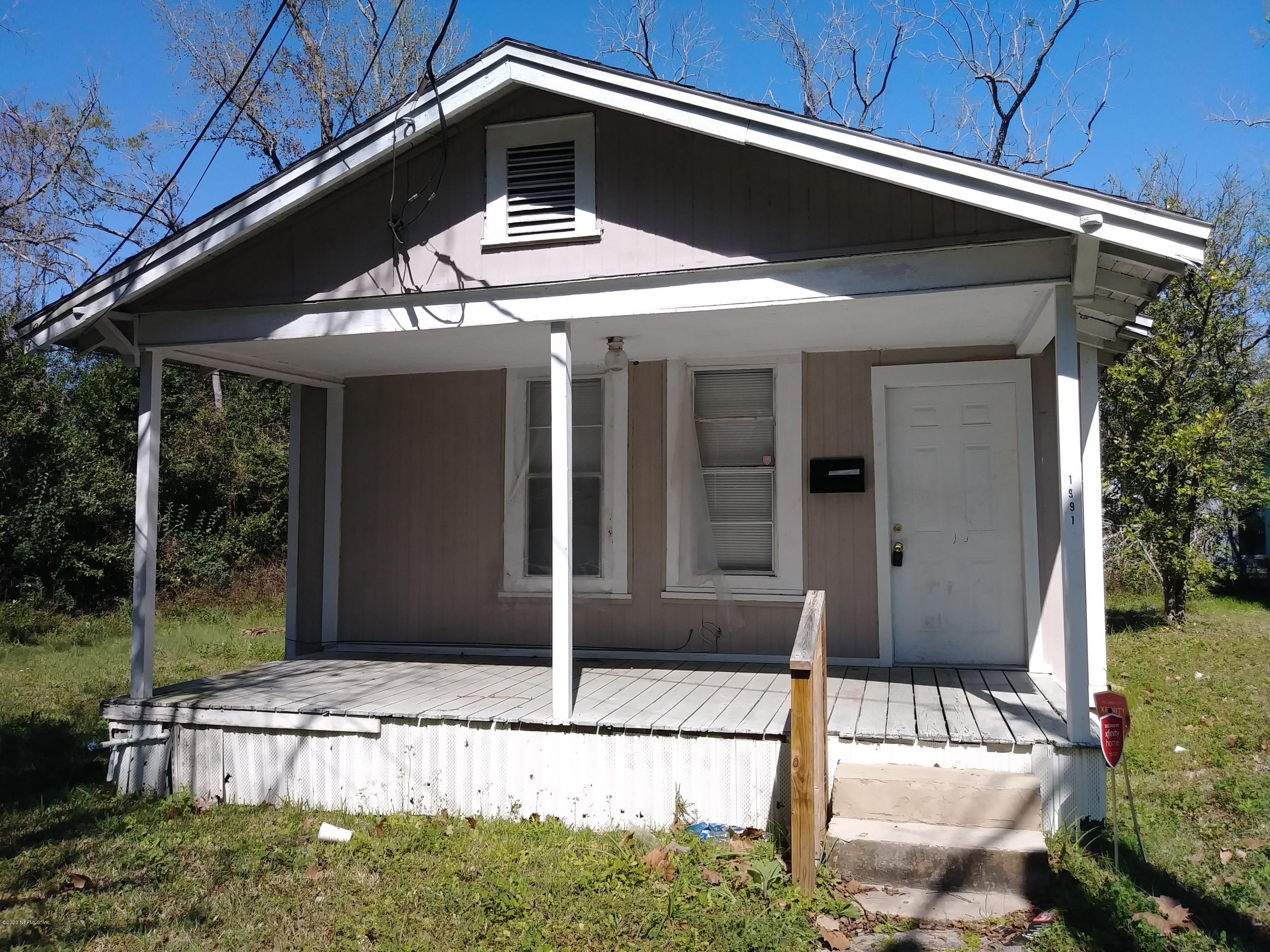 1991 23RD, JACKSONVILLE, FLORIDA 32209, 2 Bedrooms Bedrooms, ,1 BathroomBathrooms,Residential,For sale,23RD,1038286