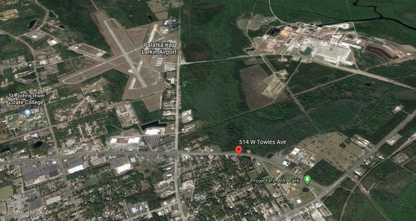 510 & 514 TOWLES, PALATKA, FLORIDA 32177, ,Vacant land,For sale,TOWLES,966898