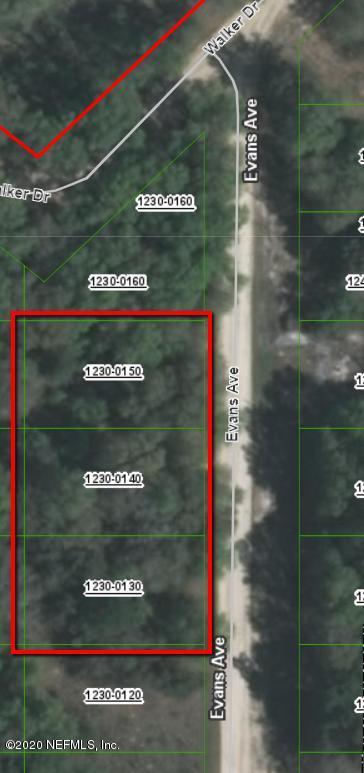 0 EVANS, INTERLACHEN, FLORIDA 32148, ,Vacant land,For sale,EVANS,1040095