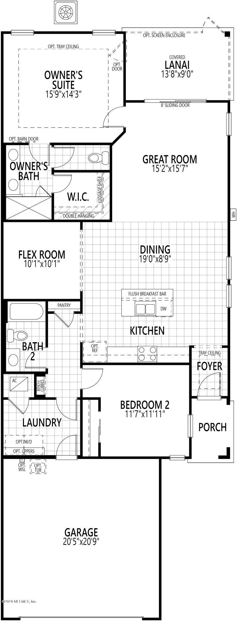 182 JUNIPER HILLS, ST JOHNS, FLORIDA 32259, 2 Bedrooms Bedrooms, ,2 BathroomsBathrooms,Residential,For sale,JUNIPER HILLS,1040747