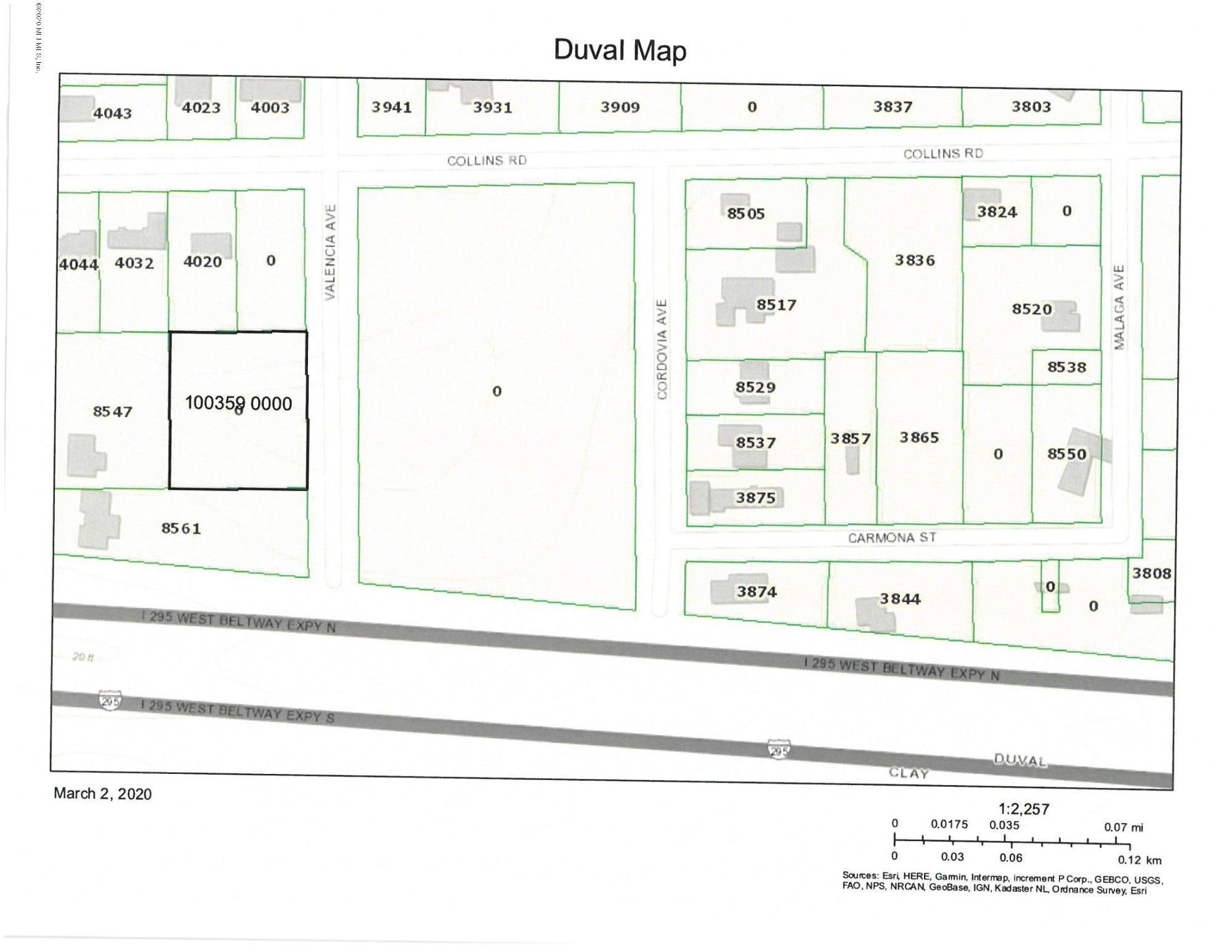0 VALENCIA, JACKSONVILLE, FLORIDA 32244, ,Vacant land,For sale,VALENCIA,1041199
