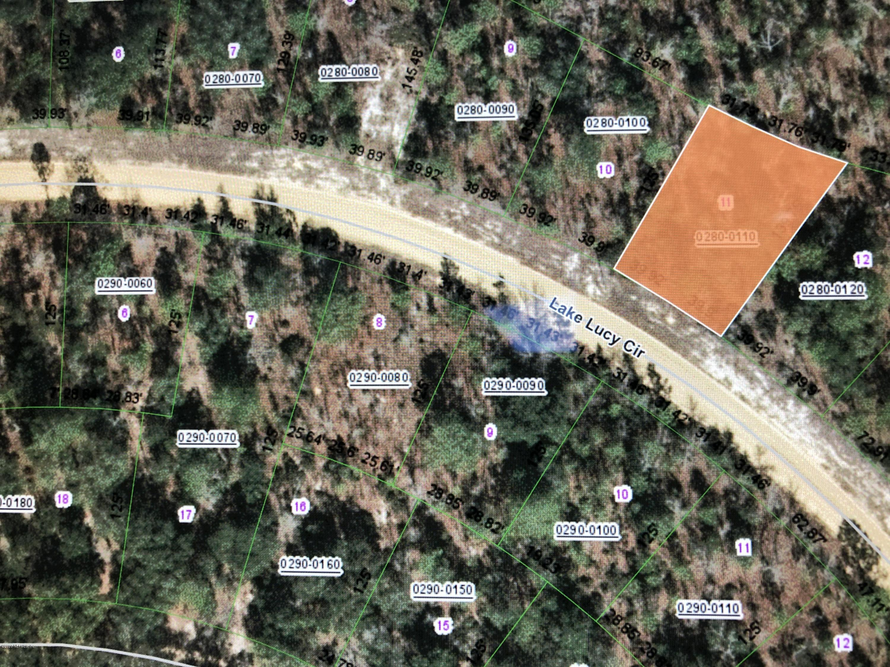 000 LAKE LUCY, INTERLACHEN, FLORIDA 32148, ,Vacant land,For sale,LAKE LUCY,1042202