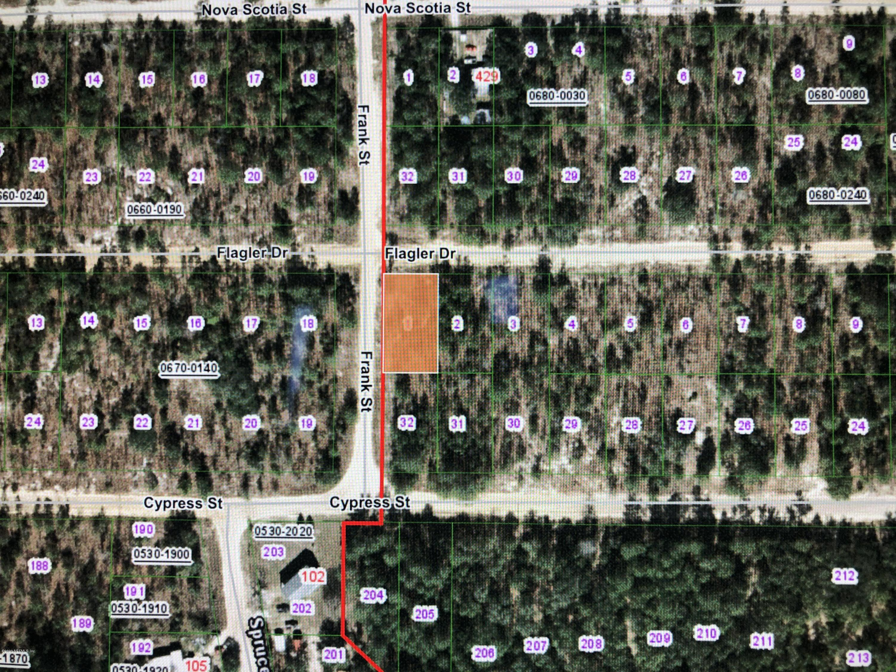 069-0010 FLAGER, INTERLACHEN, FLORIDA 32148, ,Vacant land,For sale,FLAGER,1042230