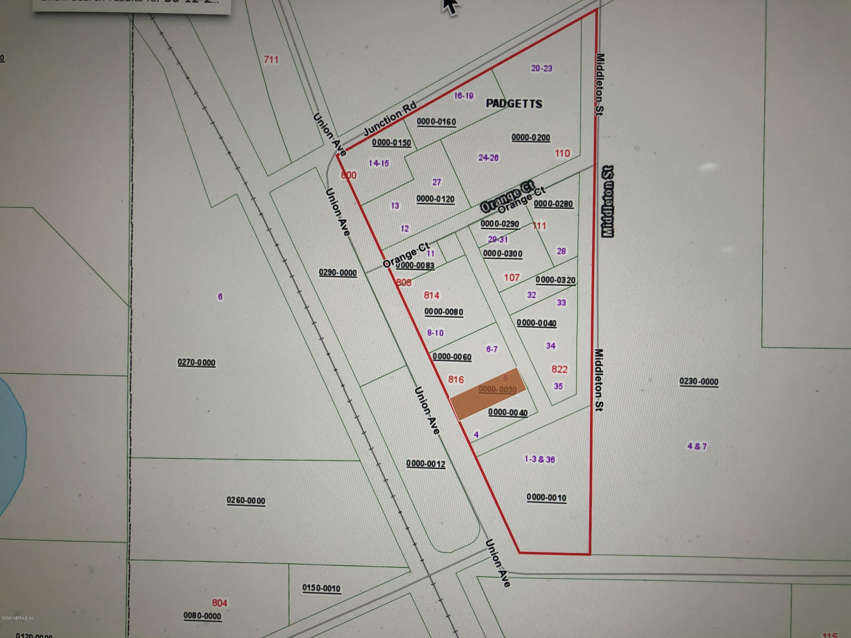 820 UNION, CRESCENT CITY, FLORIDA 32112, ,Vacant land,For sale,UNION,1042120