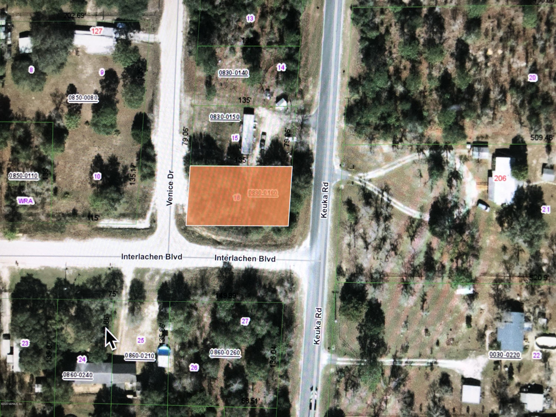 00 KEUKA, INTERLACHEN, FLORIDA 32148, ,Vacant land,For sale,KEUKA,1041967