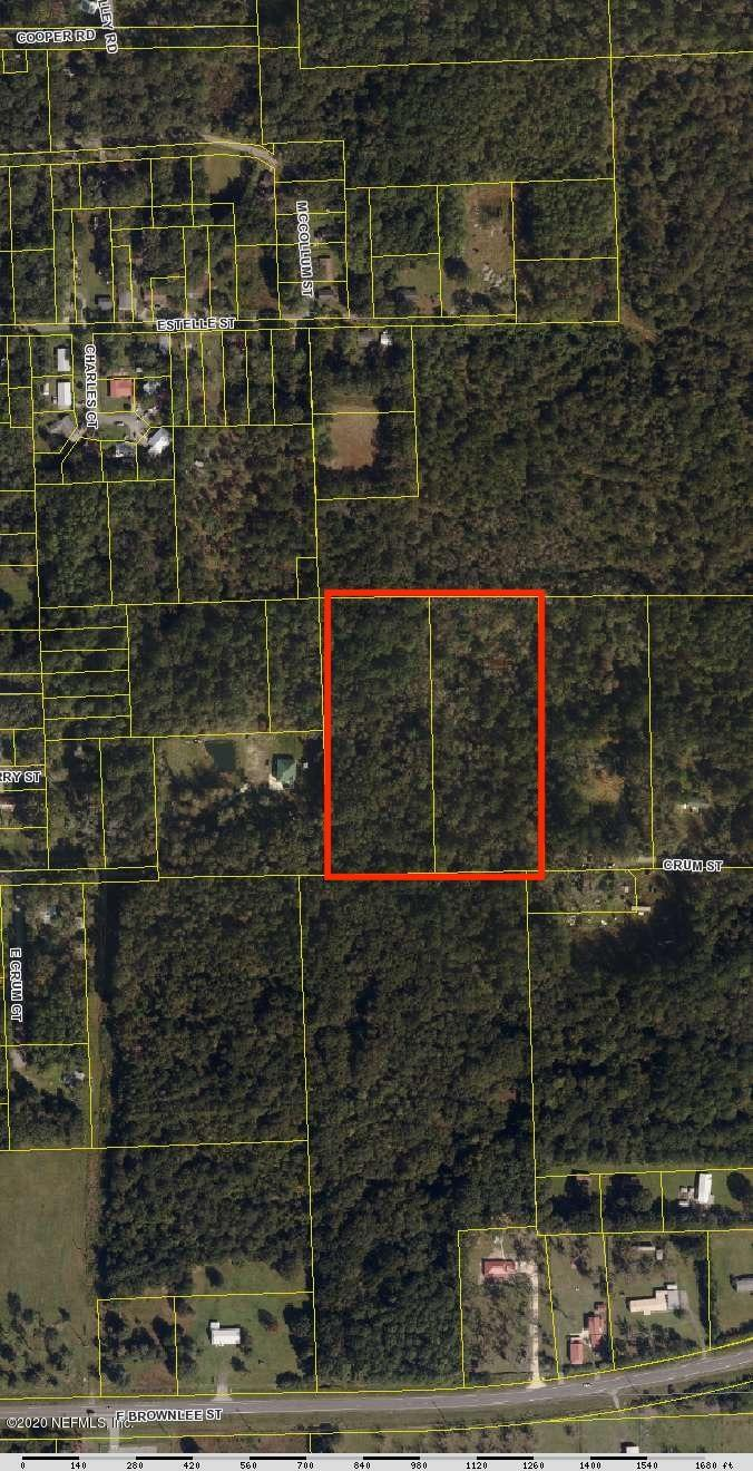 0 CRUM, STARKE, FLORIDA 32091, ,Vacant land,For sale,CRUM,1043274