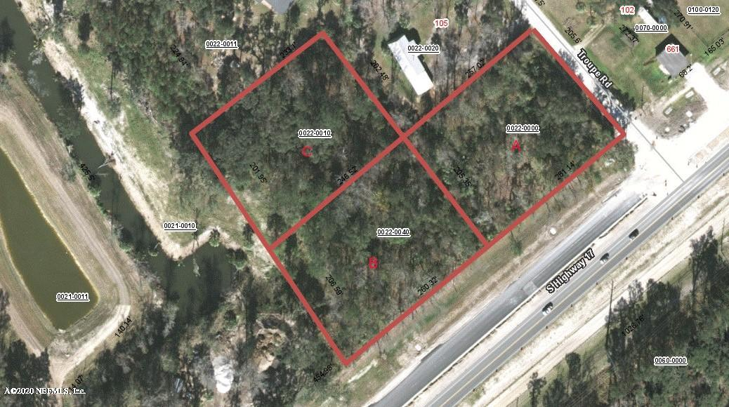 PARCEL C S HIGHWAY 17, SAN MATEO, FLORIDA 32187, ,Vacant land,For sale,S HIGHWAY 17,1043656