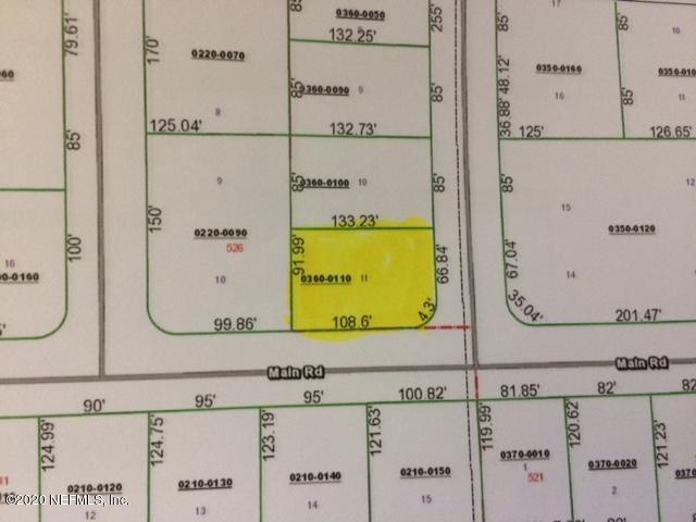 0 MAIN, INTERLACHEN, FLORIDA 32148, ,Vacant land,For sale,MAIN,1044410