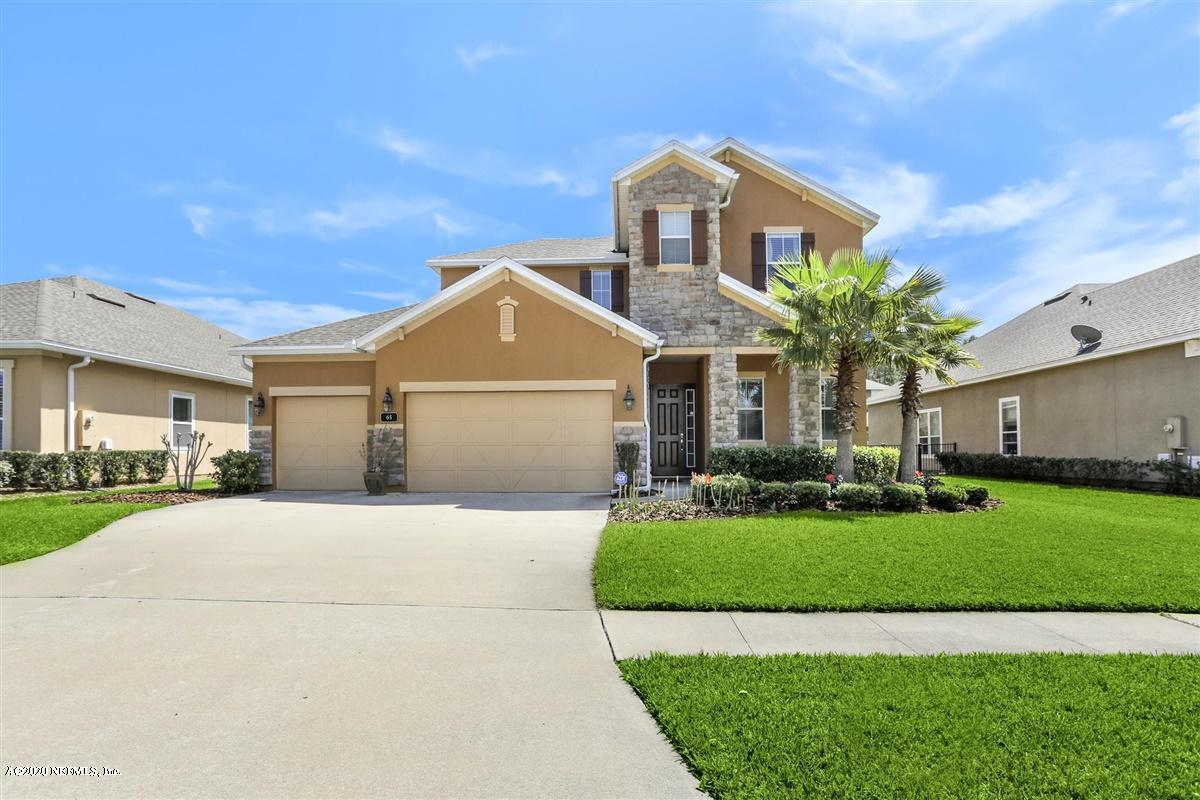 65 WILLOW PARK, PONTE VEDRA, FLORIDA 32081, 5 Bedrooms Bedrooms, ,3 BathroomsBathrooms,Residential,For sale,WILLOW PARK,1044617