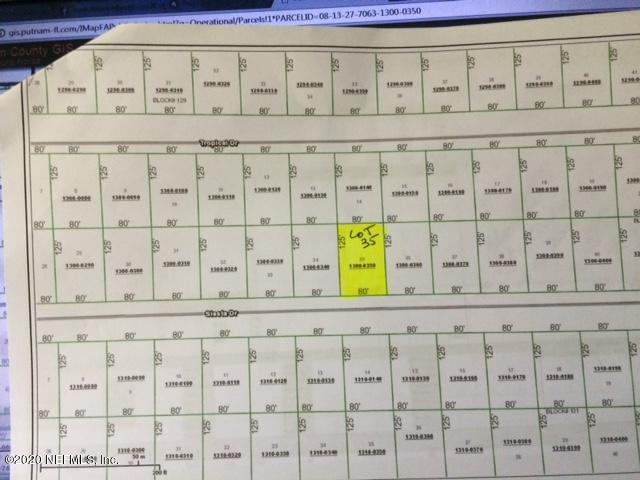 426 SIESTA, GEORGETOWN, FLORIDA 32139, ,Vacant land,For sale,SIESTA,1044737