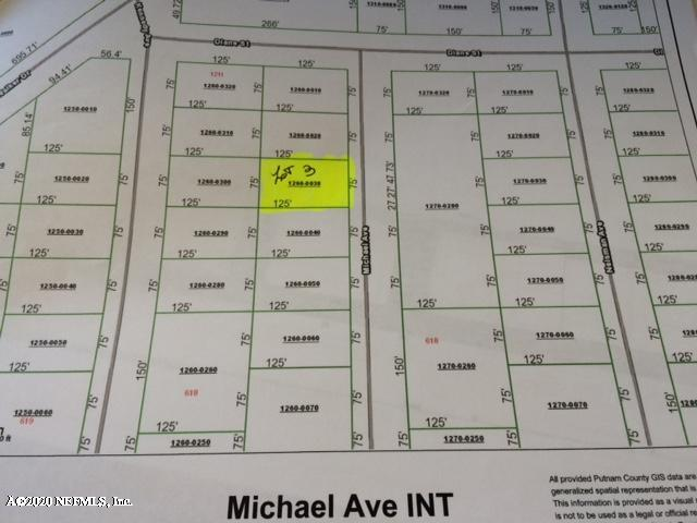 00 MICHAEL, INTERLACHEN, FLORIDA 32148, ,Vacant land,For sale,MICHAEL,1044887