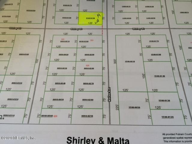 00 SHIRLEY AND MALTAS, INTERLACHEN, FLORIDA 32148, ,Vacant land,For sale,SHIRLEY AND MALTAS,1044891